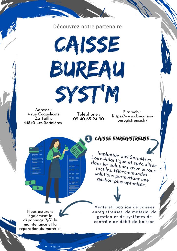 Caisse Bureau Syst'm : notre partenaire sécurité !
