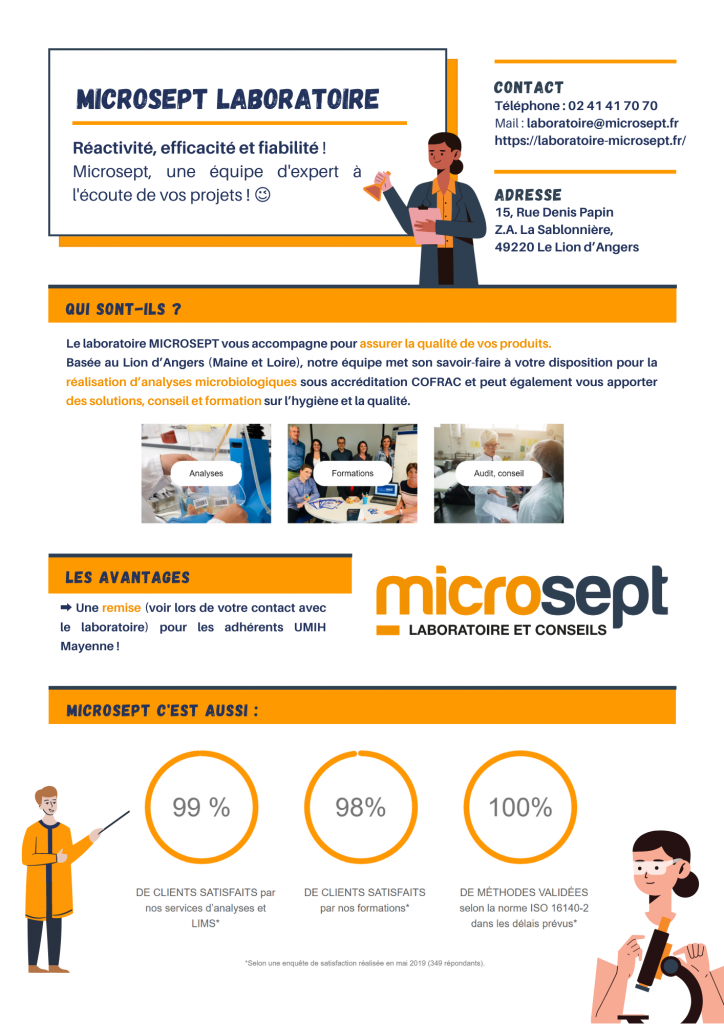 Microsept Laboratoire, un partenaire de confiance !